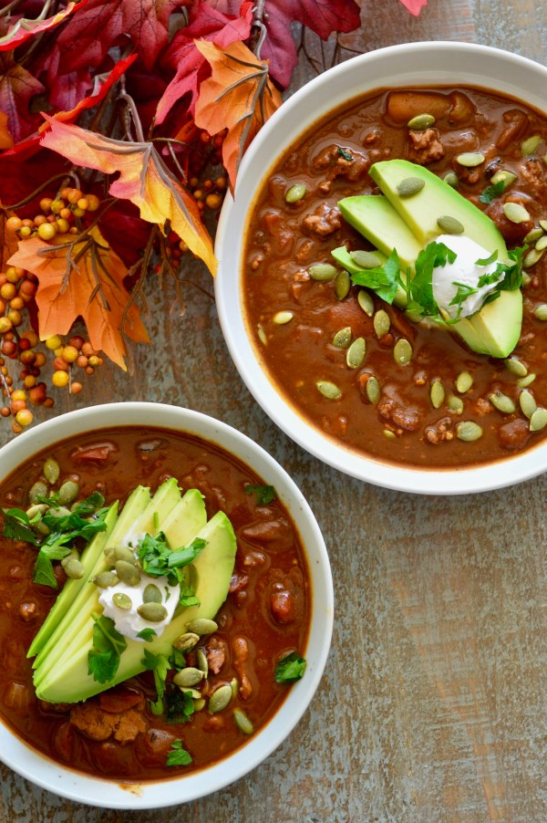 Paleo Pumpkin Turkey Chile Mole (Instant Pot or Slow Cooker!) | Real Food with Dana