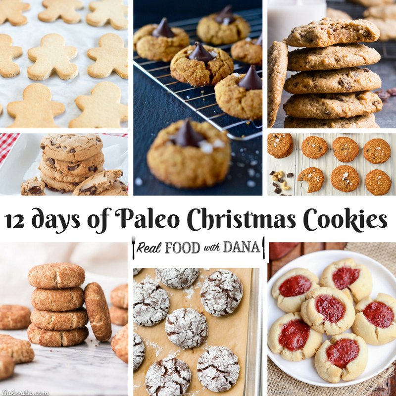 12 Days of Paleo Christmas Cookies!
