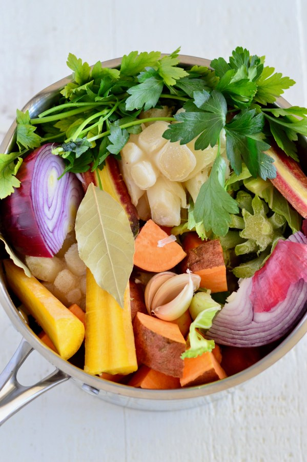 Magic mineral vegetable broth food scraps recipe with hungry harvest magic mineral vegetable broth food scraps recipe with hungry harvest real food with forumfinder Choice Image