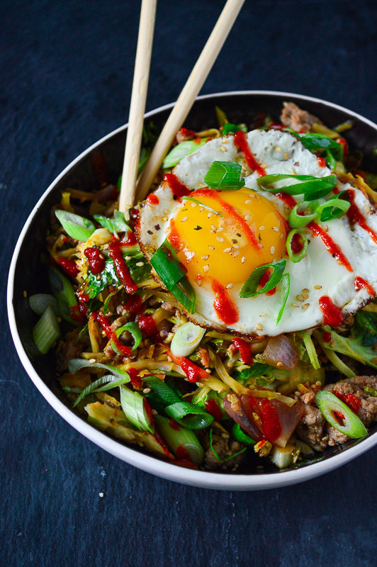 Breakfast Egg Roll in a Bowl (Whole30-friendly) | Real Food with Dana