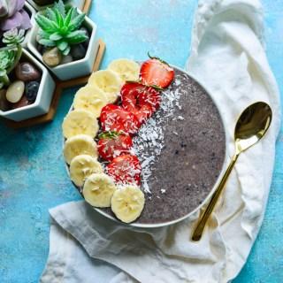 Strawberry Banana Acai Smoothie | Real Food with Dana