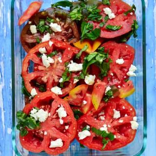 Summer Greek Tomato Salad | Real Food with Dana