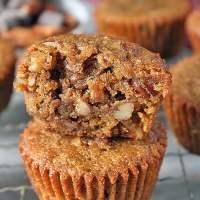 Paleo Pecan Pie Muffins