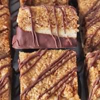 Paleo Samoa Cookie Bars