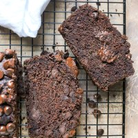 Paleo Nut-Free Double Chocolate Zucchini Bread