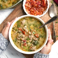 Paleo Whole30 Zuppa Toscana