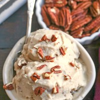 Paleo Butter Pecan Ice Cream