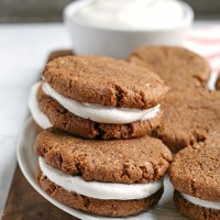 Paleo Oatmeal Cream Pies