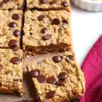 Paleo Oatmeal Cookie Bars