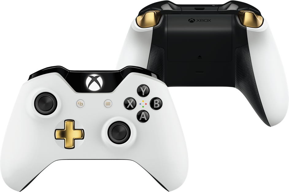 The New Xbox One Elite Bundle Lunar White Controller
