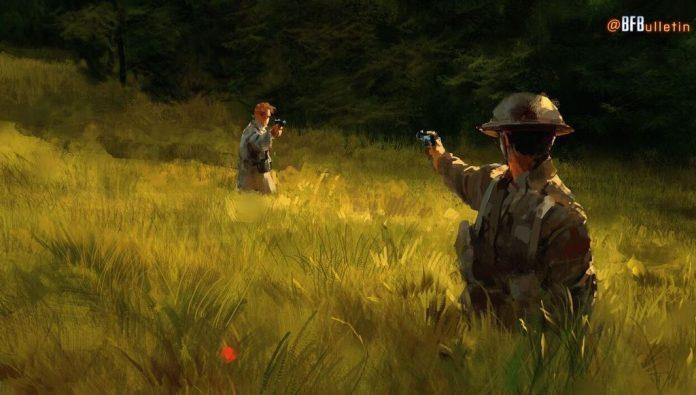 Battlefield 1 art poppy