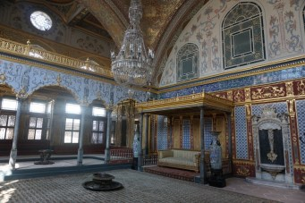 Sultan's guest chamber