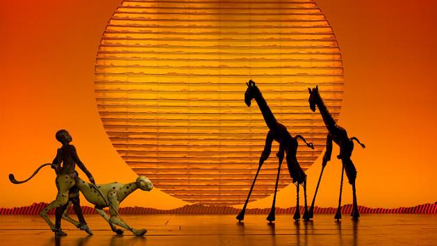 迪士尼音乐剧《狮子王》普通话版在上海全球首演
