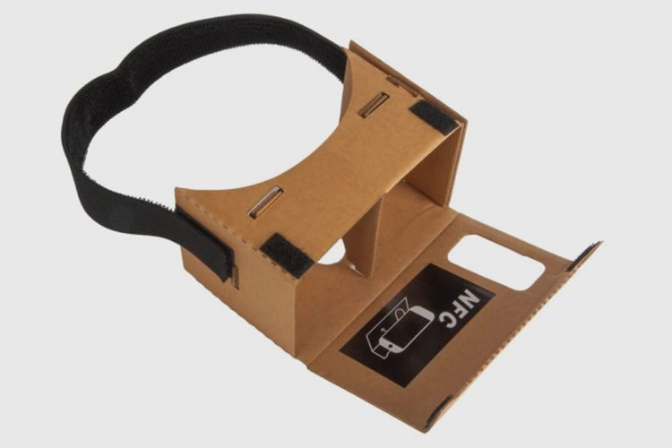 Casque VR iPhone Google Cardboard V2