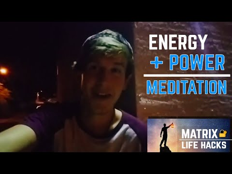 MATRIX LIFE HACK #3 - Alignment with SELF & Instantly Increase Energy ?( POWER MEDITATION )