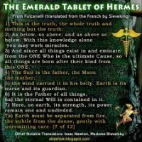 The Emerald Tablet of Hermes – Sacred Text (FULL ESOTERIC BREAKDOWN)