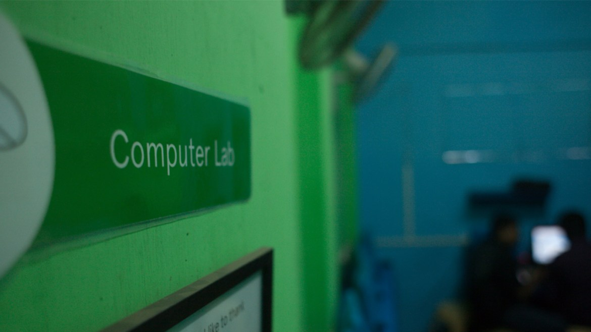 New Computer Lab opens in Chamda Bazaar