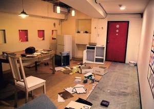 An explored escape room. picture from Wikipedia