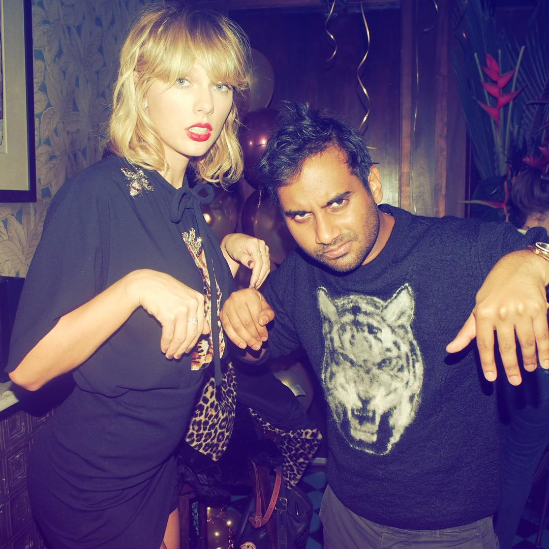 Image result for Aziz Ansari taylor swift