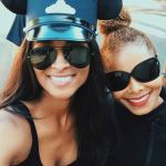 Rare Photo Of Ciara & Janet Jackson In Disneyland