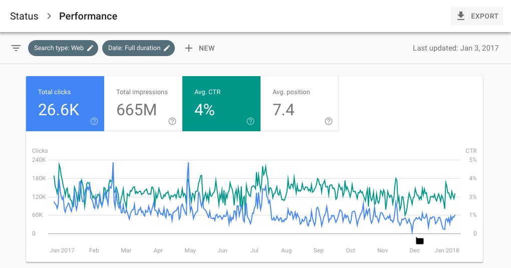 new google search console