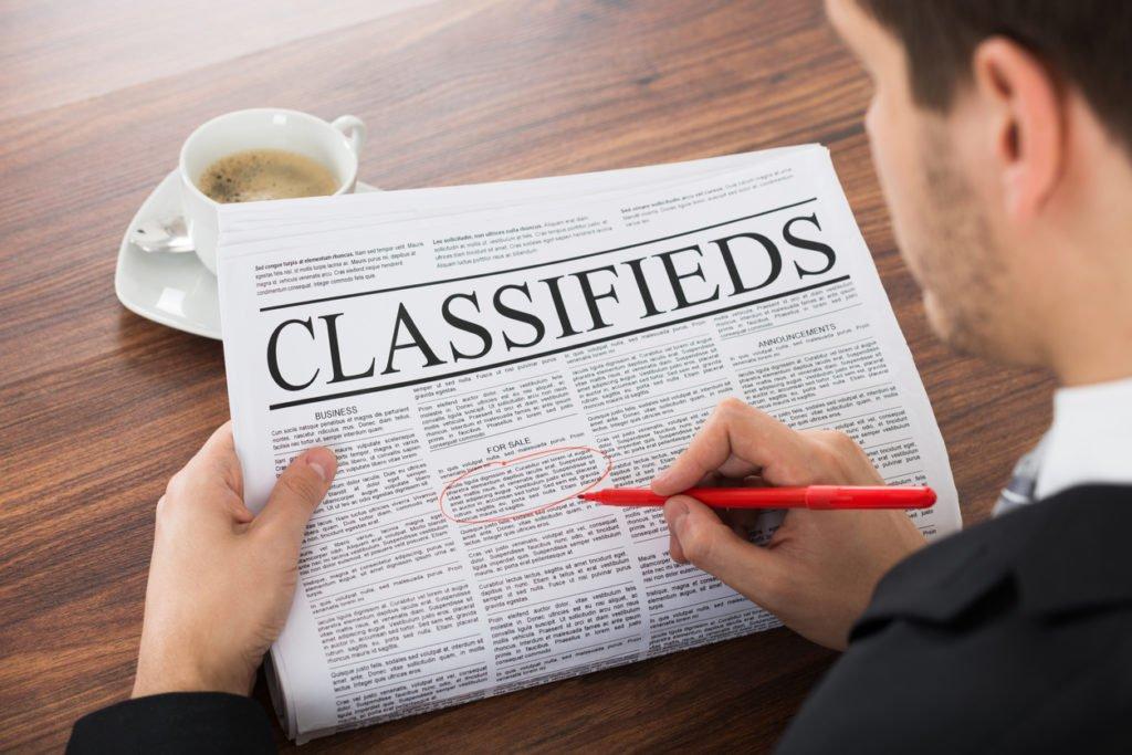 Writing Classified Ads