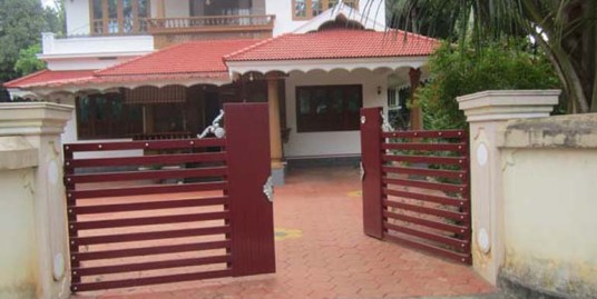 Land and House for sale at Kunnamkulam