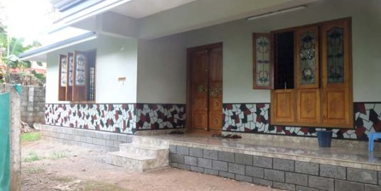 Newly completed villa for sale at Thrissur Dist.