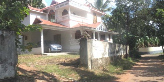 Double-storied house for sale at Kollam
