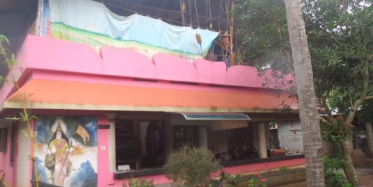 Land and House for sale at Paravur