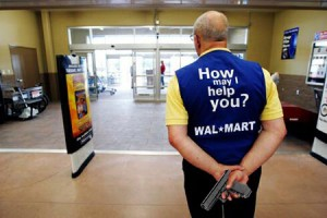 Wal-Mart employees in Los Angeles rally against anti-union retaliation