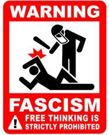 fascism warning