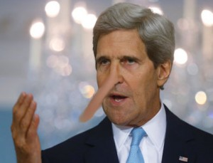 Putin Says John Kerry 'Is Lying. It's Sad'