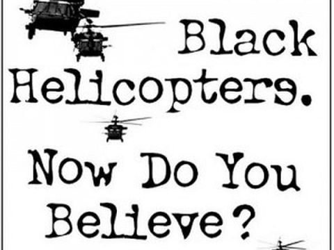 black helicopters