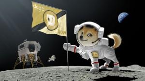 Doge On Moon