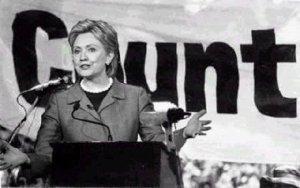 Hillary Cunt