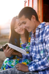 mongolian-couple-studying-scriptures-1184877-gallery