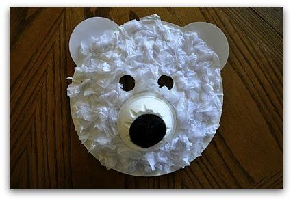 polar bear masks