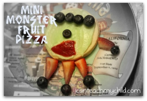 monster fruit pizza
