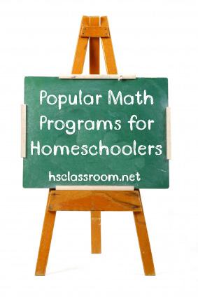 popular math programs for homeschoolers