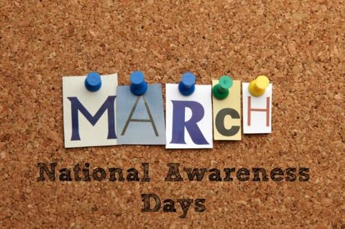 March National Awareness Days