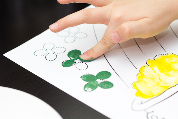 Saint Patrick's Day Painting Activity