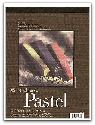 pastels pad
