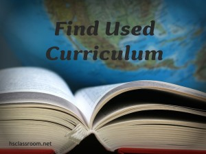Find Used Curriculum
