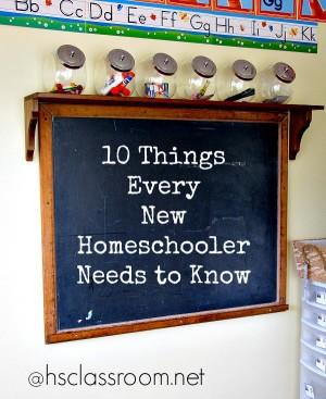 10 Things Every New Homeschooler Needs to Know | Real Life at Home