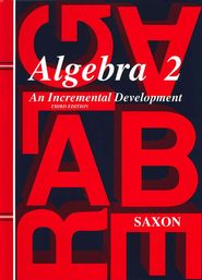 How I Use Saxon Algebra 2 | Real Life at Home