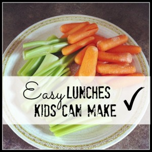 Easy Lunches Kids Can Make
