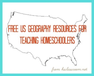 us geography resources homeschool