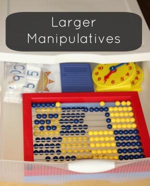 large manipulatives