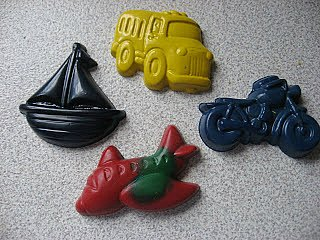 homemade crayons Christmas gifts
